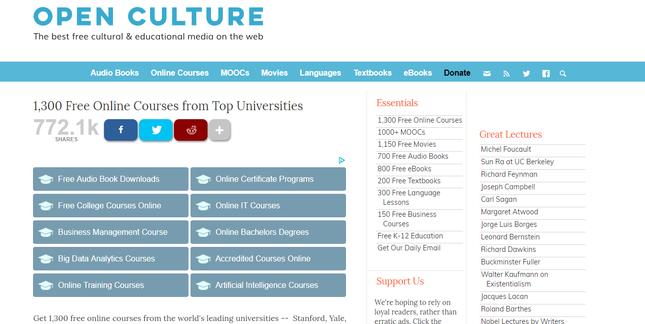Online College Courses >> 10 Website Popular Untuk Belajar Online
